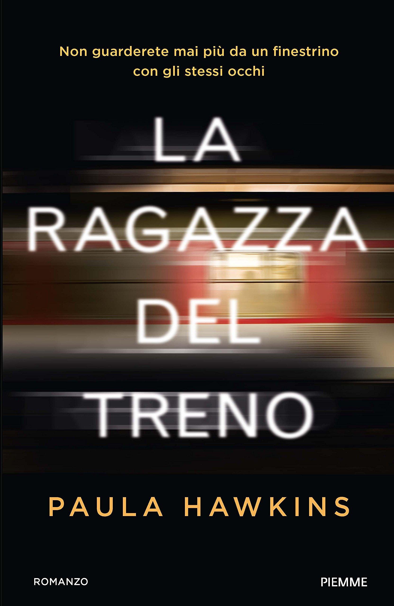 La ragazza del treno Book Cover